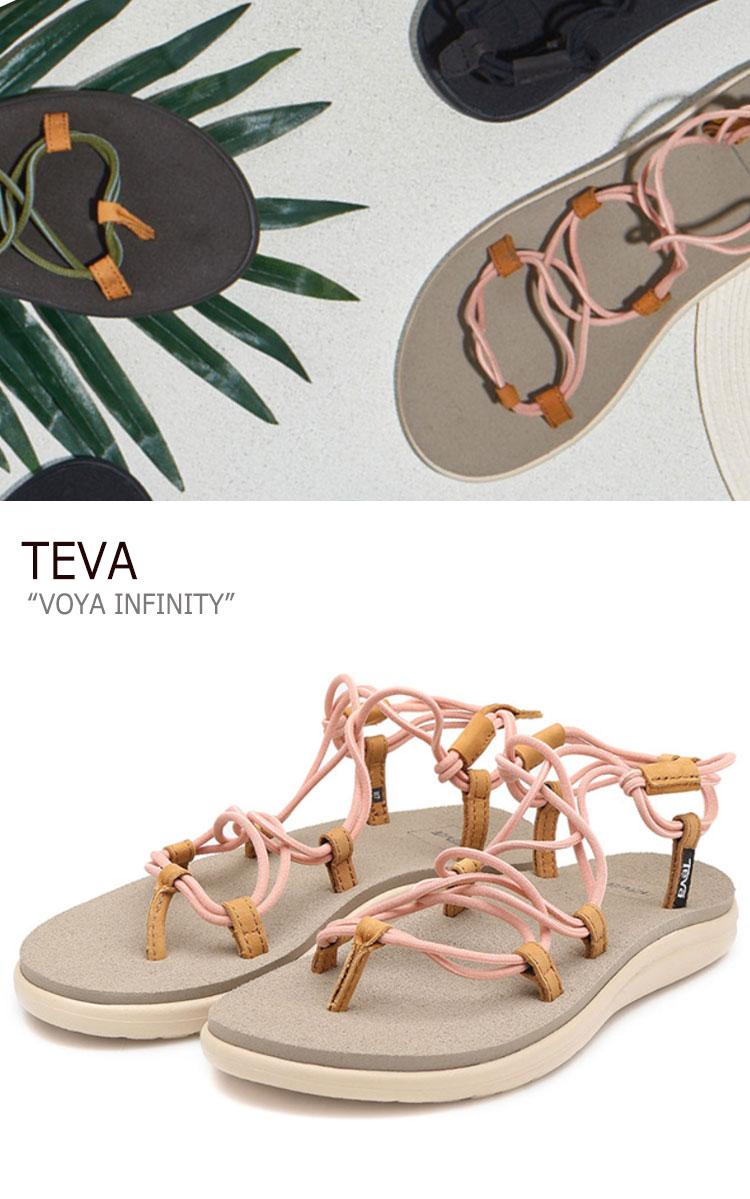 テバ サンダル TEVA レディース VOYA INFINITY ボヤインフィニティ PINK ピンク 1019622-TPCH シューズ