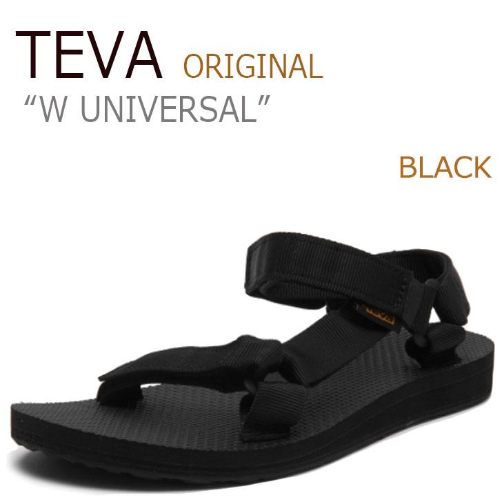 テバ サンダル TEVA レディース オリジナル ユニバーサル W ORIGINAL UNIVERSAL BLACK ブラック 1003987-BLK シューズ