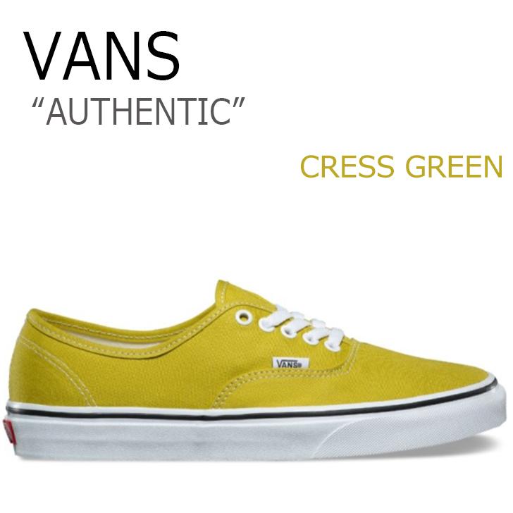 バンズ オーセンティック スニーカー VANS メンズ レディース AUTHENTIC CRESS GREEN グリーン VN0A38EMU61 シューズ