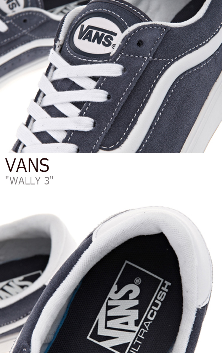 6ec5bb26f6d7 商品紹介. バンズ スニーカー VANS メンズ WALLY 3 ウォーリー3 (VARSITY SPORT 73) NAVY TRUE WHITE  ...