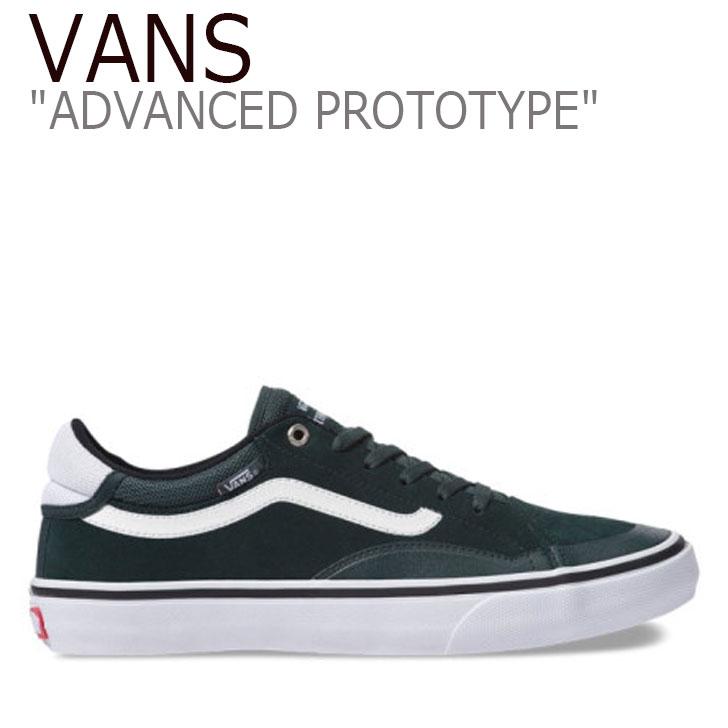 バンズ スニーカー VANS メンズ TNT ADVANCED PROTOTYPE アドバンスド プロトタイプ DARK GREEN グリーン ブラック VN0A3TJXUHA シューズ