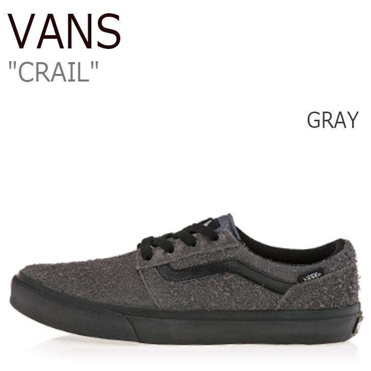 バンズ スニーカー VANS メンズ CRAIL クレイル GRAY グレー V341MS シューズ