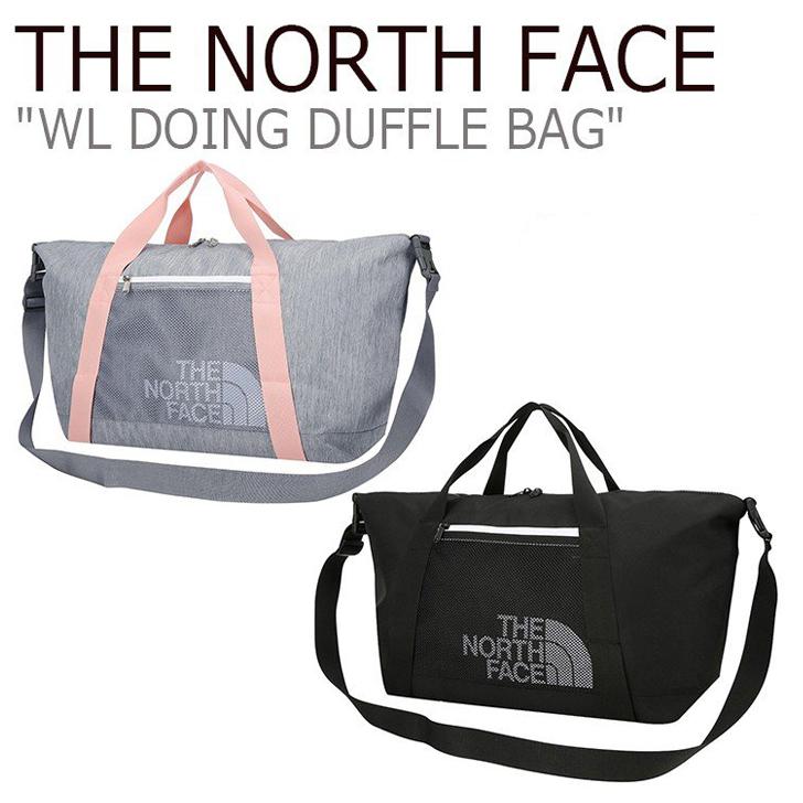ノースフェイス ボストンバッグ THE NORTH FACE メンズ レディース WL DOING DUFFLE BAG ドゥーイング ダッフルバッグ GREY BLACK グレー ブラック NN2FJ12J/K バッグ 【中古】未使用品