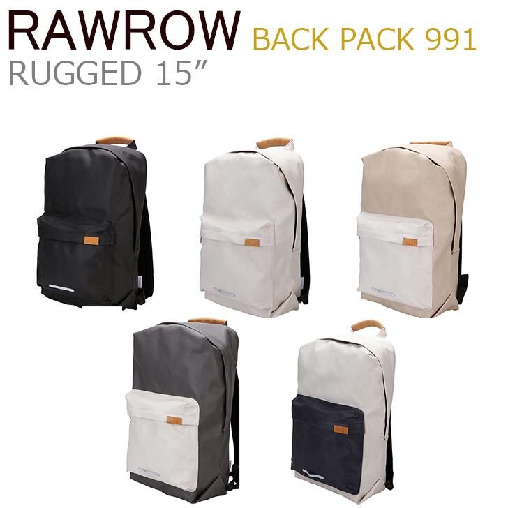 ロウロウ バッグ RawRow メンズ レディース BACK PACK 911 RUGGED 15