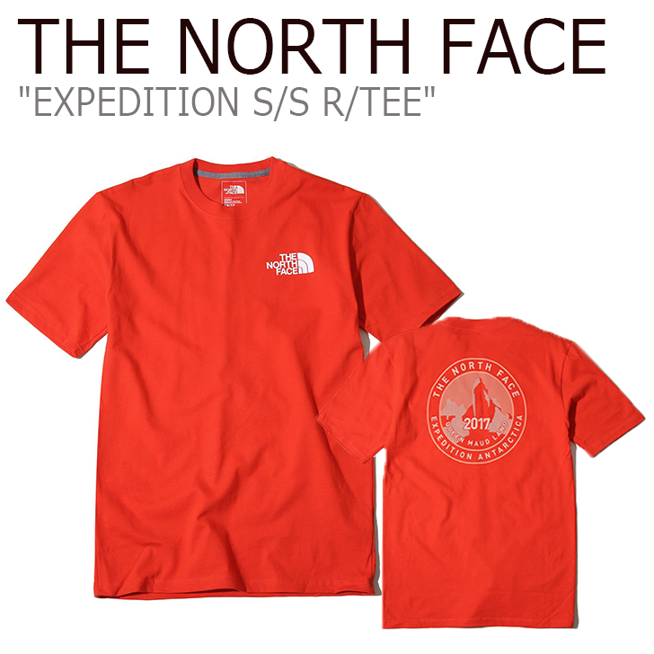 3ed8acb07 North Face T-shirt THE NORTH FACE men EXPEDITION S/S R/TEE expedition short  sleeve round T short sleeves Ann Tak Thika NT7UK00Cware-free article