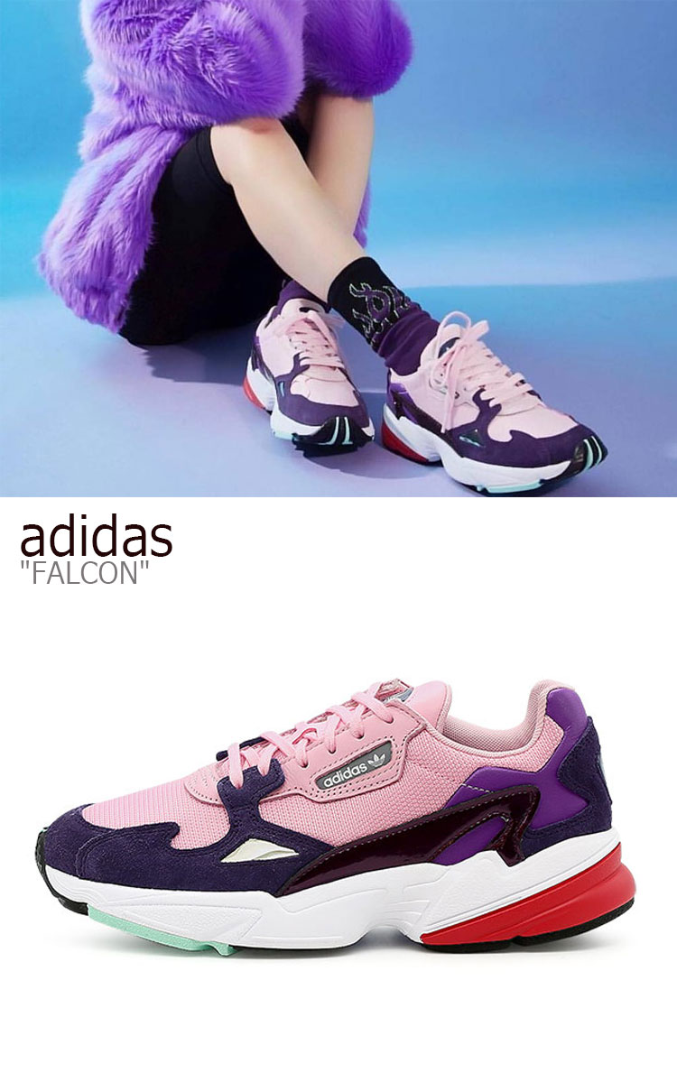 fast delivery latest discount for whole family Adidas falcon sneakers adidas men gap Dis FALCON ダッドシューズ PINK pink BD7825  shoes-free article