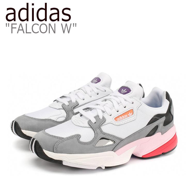 アディダス ファルコン スニーカー adidas メンズ レディース FALCON ダッドシューズ WHITE ホワイト CG6214 シューズ 【中古】未使用品