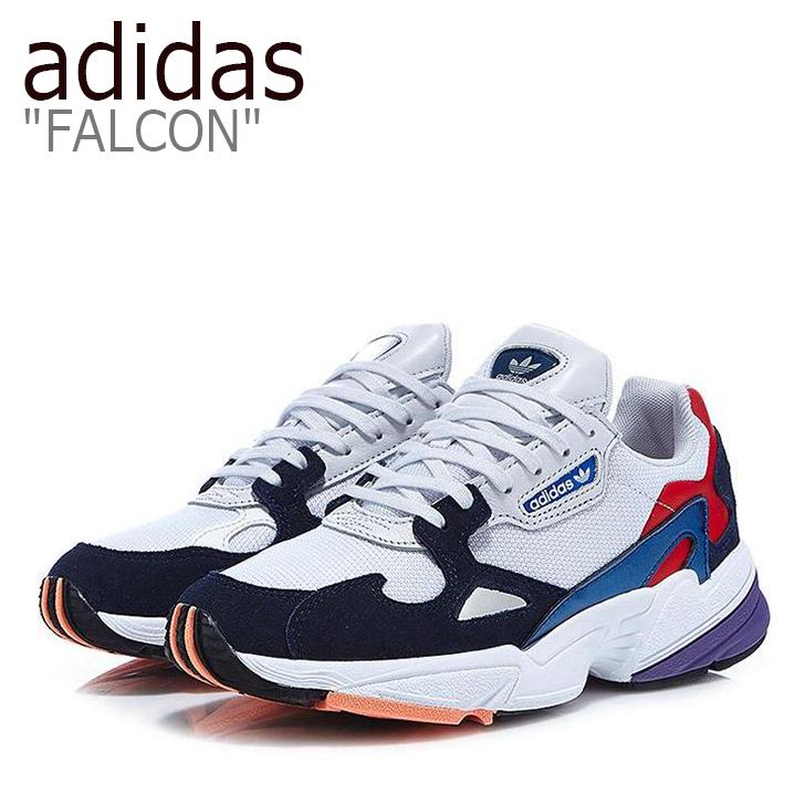 アディダス ファルコン スニーカー adidas メンズ レディース FALCON ダッドシューズ WHITE ホワイト CG6246 FLAD9S1U11 シューズ 【中古】未使用品