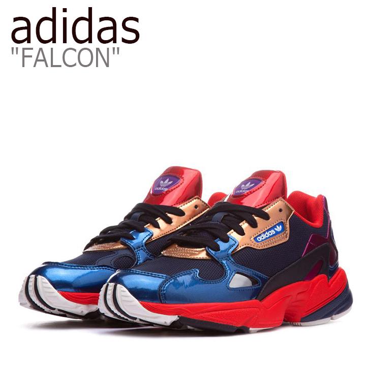 アディダス ファルコン スニーカー adidas メンズ レディース FALCON ダッドシューズ NAVY ネイビー CG6632 シューズ 【中古】未使用品