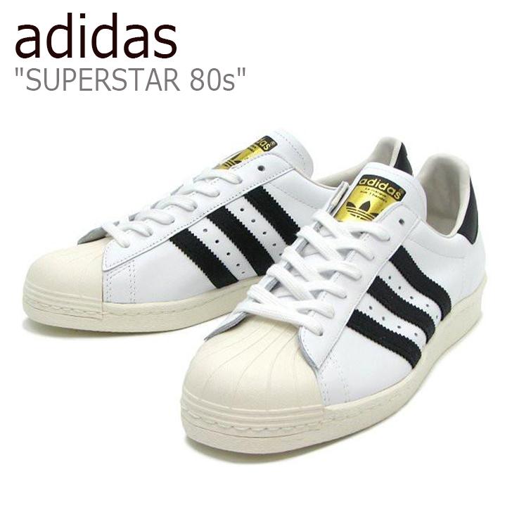 アディダス スーパースター スニーカー adidas メンズ レディース SUPERSTAR 80s スーパースター80s White ホワイト G61070 シューズ 【中古】未使用品