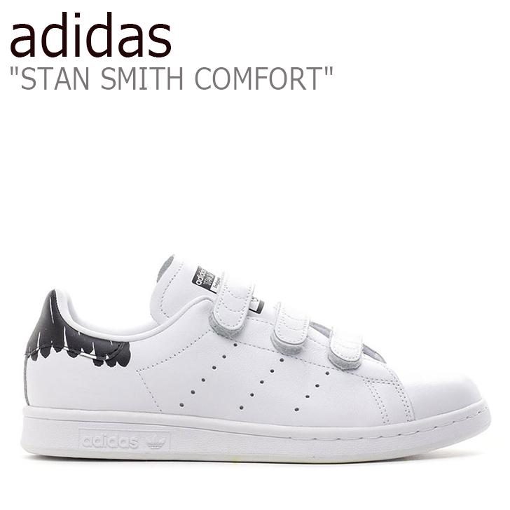 アディダス スタンスミス スニーカー adidas レディース オリジナルス スタン スミス コンフォート ウーマンズ STAN SMITH COMFORT W WHITE ホワイト BY2975 シューズ 【中古】未使用品