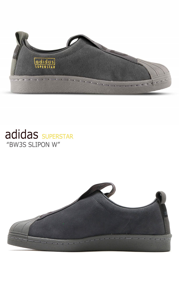 purchase cheap 32b4d 24a28 Adidas superstar sneakers adidas men gap Dis slip-ons women SUPERSTAR BW3S  SLIPON W BLACK black CG3695 shoes-free article