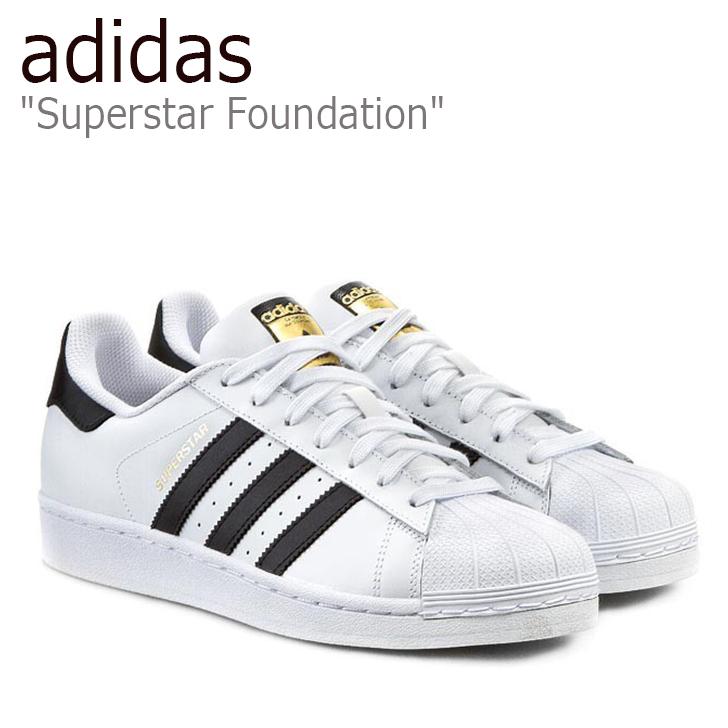 アディダス スーパースター スニーカー adidas メンズ レディース Superstar Foundation ファウンデーション 金ベロ White ホワイト C77124 シューズ 【中古】未使用品