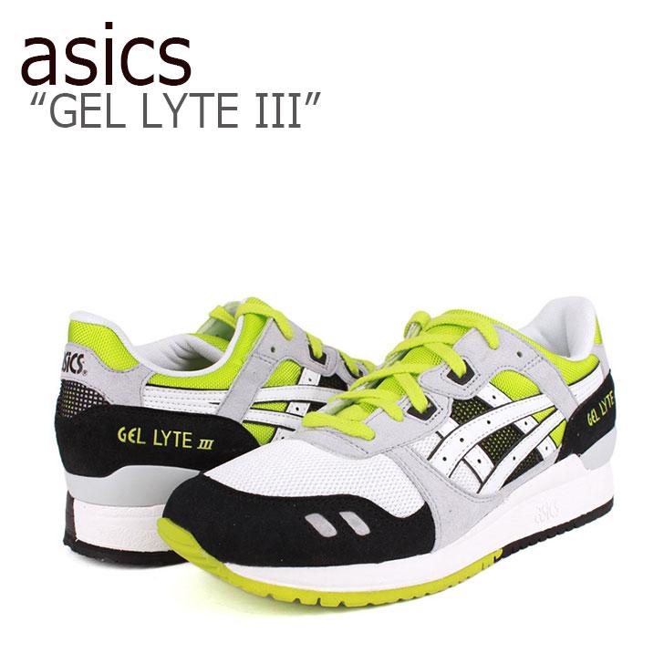 アシックスタイガー ゲルライト3 スニーカー asics メンズ Gel Lyte 3 lime ライム H307N-0101 シューズ