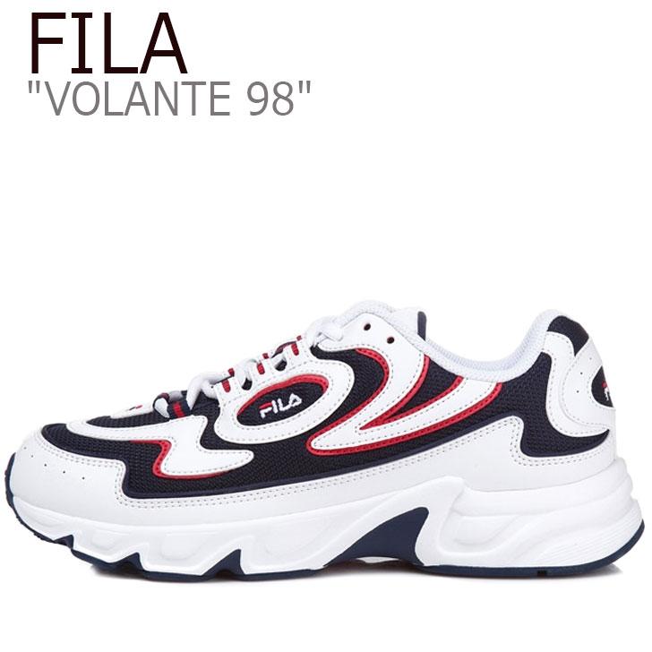 フィラ スニーカー FILA レディース VOLANTE 98 ボランチ98 WHITE ホワイト NAVY ネイビー RED レッド FS1HTA3061X シューズ