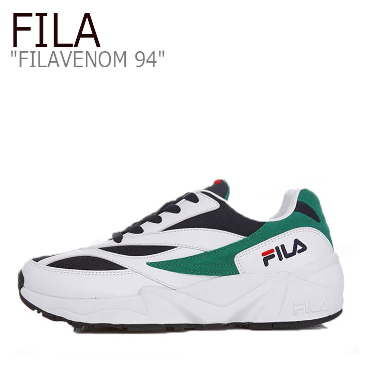 フィラ スニーカー FILA メンズ レディース FILAVENOM 94 フィラヴェノム94 WHITE NAVY ホワイト ネイビー FS1HTA3032X シューズ