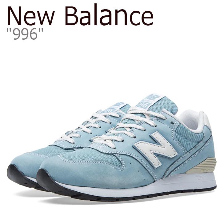 ニューバランス 996 スニーカー メンズ New Balance 996 BLUE ニューバランス996 ブルー MRL996FL シューズ 【中古】未使用品