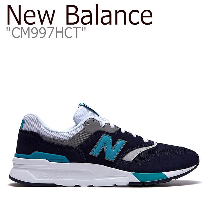 ニューバランス 997 スニーカー New Balance メンズ レディース New Balance 997 ニューバランス997 NAVY ネイビー CM997HCT NBPD9S425N シューズ 【中古】未使用品
