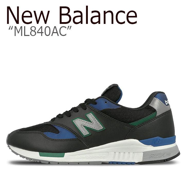 ニューバランス 840 スニーカー New Balance メンズ レディース ML 840 AC New Balance840 BLACK ブラック ML840AC シューズ 【中古】未使用品