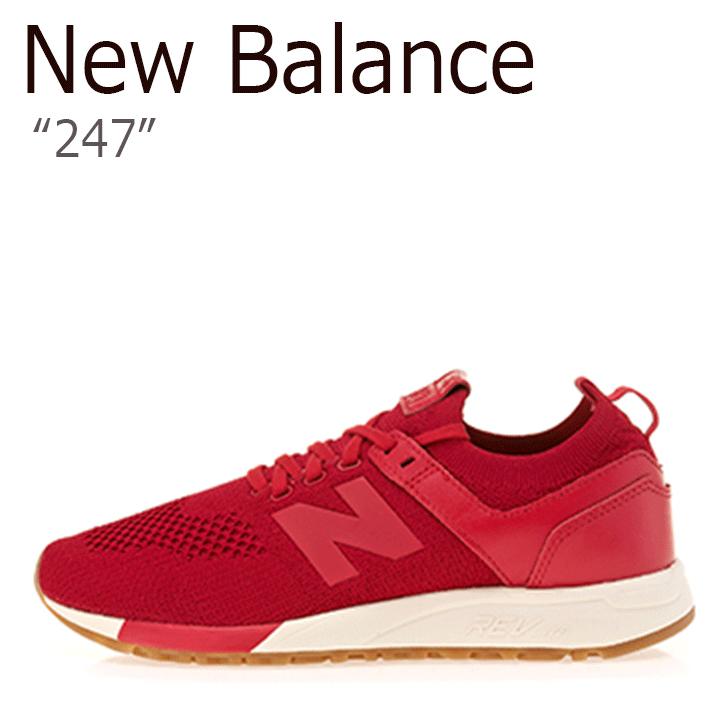 ニューバランス 247 スニーカー New Balance メンズ レディース MRL 247 DC New Balance247 RED レッド MRL247DC シューズ 【中古】未使用品