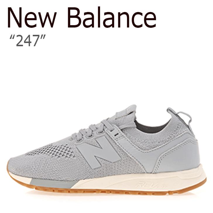 ニューバランス 247 スニーカー New Balance メンズ レディース MRL 247 DS New Balance247 GRAY グレー MRL247DS シューズ 【中古】未使用品
