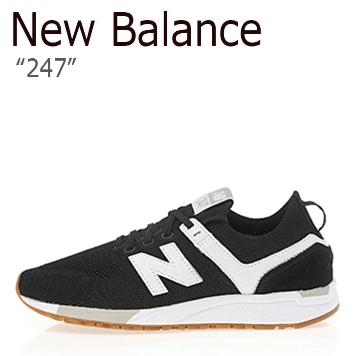 ニューバランス 247 スニーカー New Balance メンズレディース MRL 247 DY New Balance247 BLACK ブラック MRL247DY シューズ 【中古】未使用品