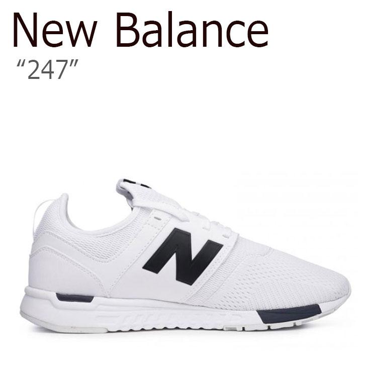 ニューバランス 247 スニーカー New Balance メンズ レディース MRL 247 WG New Balance247 WHITE ホワイト MRL247WG シューズ 【中古】未使用品