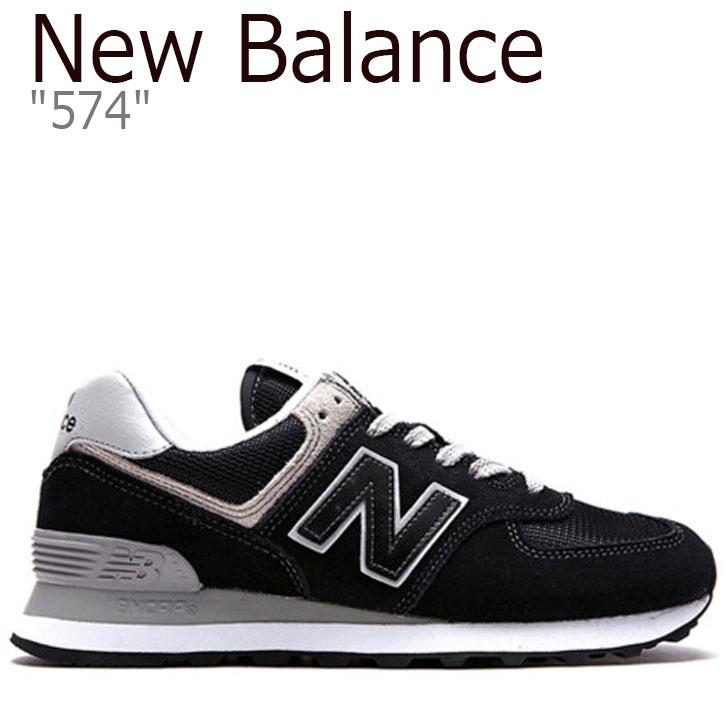 ニューバランス 574 スニーカー NEW BALANCE レディース new balance 574 ニューバランス574 BLACK ブラック WL574EB シューズ 【中古】未使用品