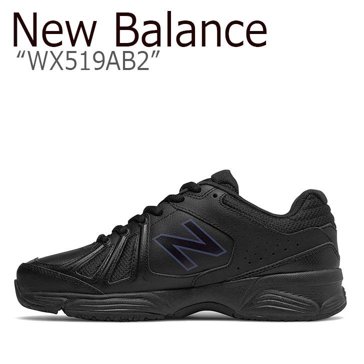 ニューバランス 519 スニーカー New Balance メンズ レディース WX 519 AB 2 New Balance519 BLACK ブラック WX519AB2 シューズ 【中古】未使用品