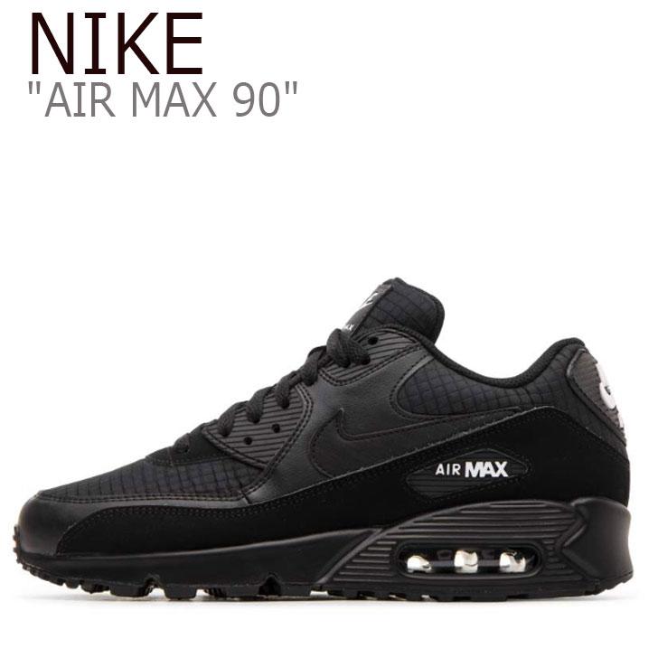 ナイキ エアマックス 90 スニーカー NIKE メンズ AIR MAX 90 ESSENTIAL エアマックス 90 エッセンシャル BLACK ブラック AJ1285-019 シューズ 【中古】未使用品