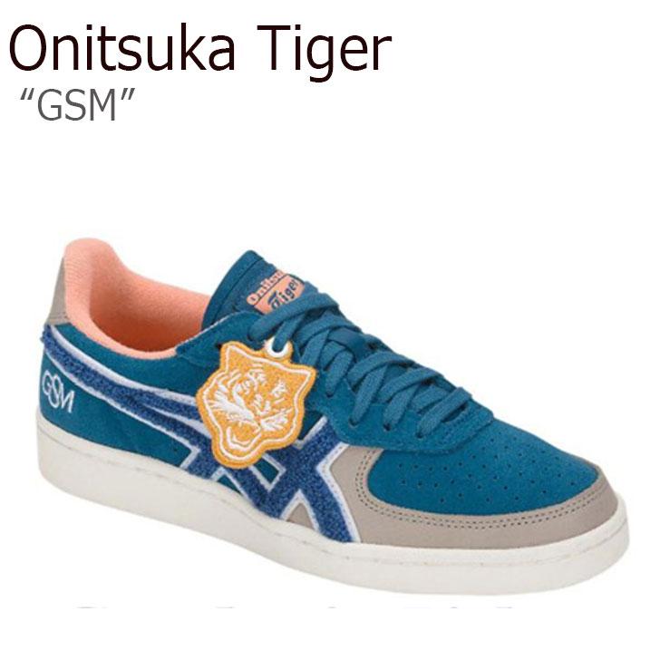 オニツカタイガー スニーカー Onitsuka Tiger レディース GSM ジーエスエム DEEP SAPPHIRE ディ―プ サファイア 1182A020-400 シューズ
