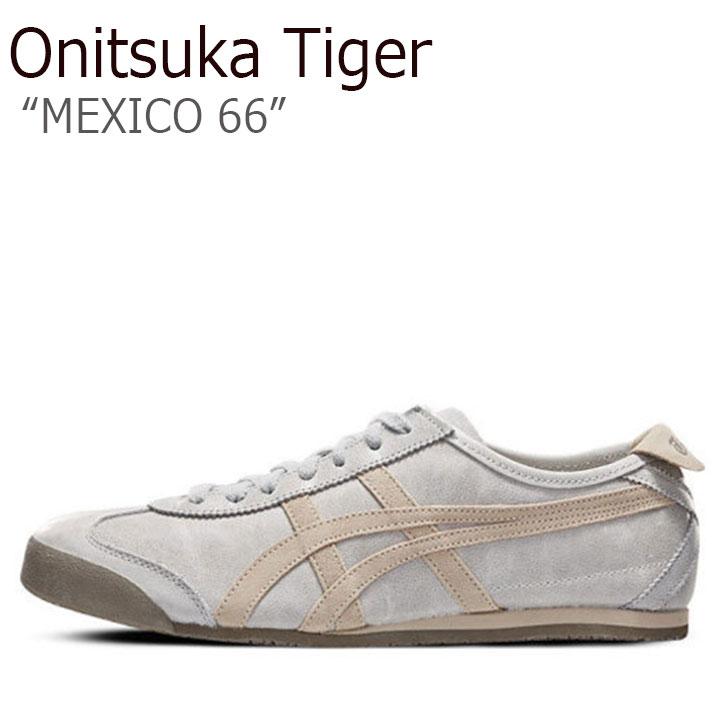 オニツカタイガー スニーカー Onitsuka Tiger メンズ レディース MEXICO 66 メキシコ66 MID GREY FEATHER GREY ミッドグレー フェザーグレー 1183A032-020 シューズ
