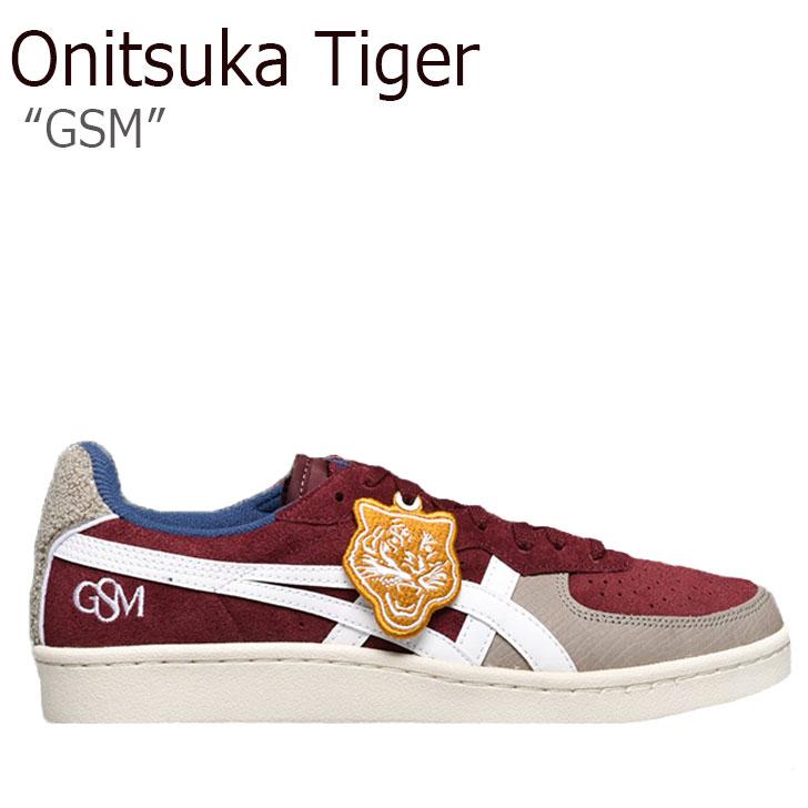オニツカタイガー スニーカー Onitsuka Tiger メンズ レディース GSM ジーエスエム PORT ROYAL WHITE ポートロイヤル ホワイト 1183A160-600 シューズ