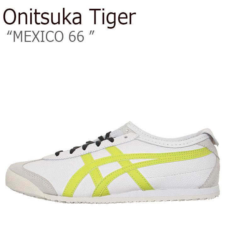 オニツカタイガー スニーカー Onitsuka Tiger メンズ レディース MEXICO 66 メキシコ66 WHITE NEON LIME ホワイト ネオンライム 1183A459-102 シューズ