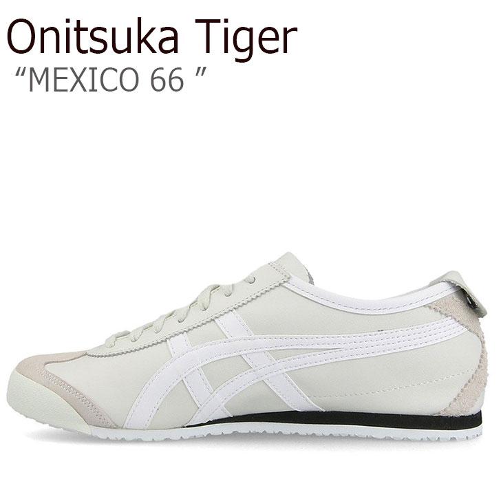 オニツカタイガー スニーカー Onitsuka Tiger メンズ レディース MEXICO 66 メキシコ66 VAPOROUS GREY WHITE バイポラスグレー ホワイト D4J2L-9001 シューズ