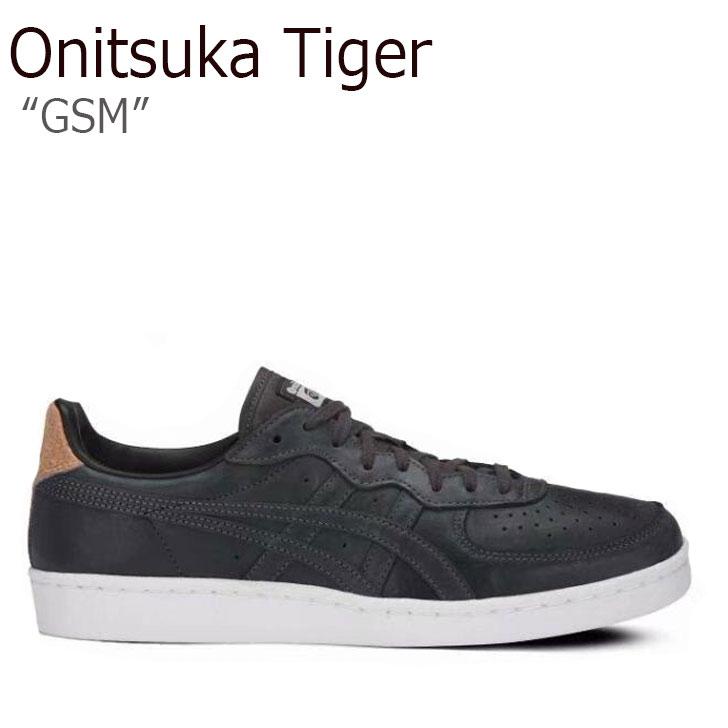 オニツカタイガー スニーカー Onitsuka Tiger メンズ レディース GSM ジーエスエム BLACK ブラック D837L-9090 シューズ