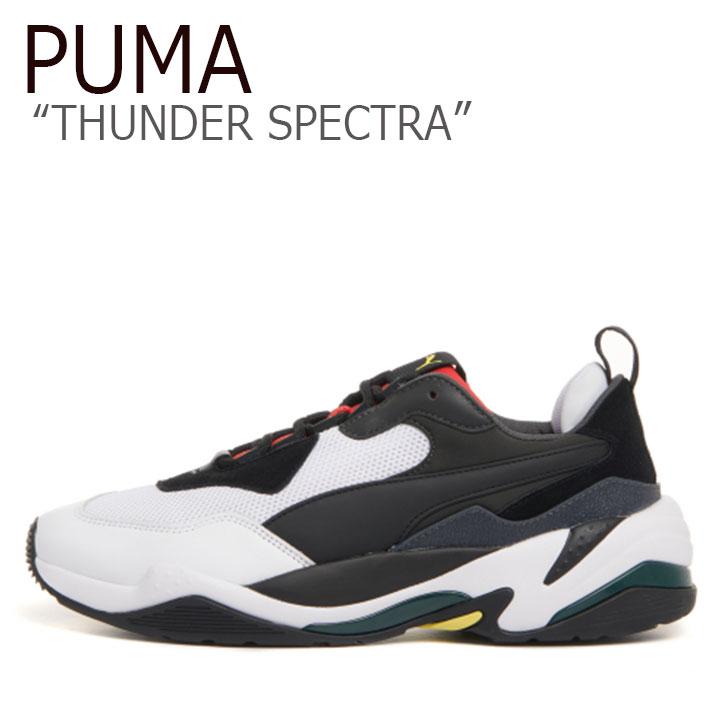 プーマ スニーカー PUMA メンズ レディース THUNDER SPECTRA サンダー スぺクトラ BLACK ブラック 36751607 PKI36751607 シューズ 【中古】未使用品