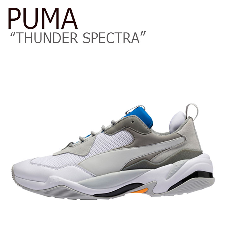 プーマ スニーカー PUMA メンズ レディース THUNDER SPECTRA サンダー スぺクトラ WHITE ホワイト 36751608 PKI3675160 シューズ 【中古】未使用品