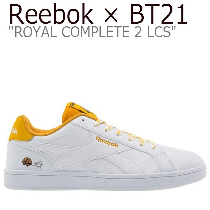 リーボック ロイヤルコンプリート スニーカー REEBOK メンズ レディース ROYAL COMPLETE 2LCS ロイヤル コンプリート 2LCS SHOOKY ショキー WHITE ホワイト YELLOW イエロー DV8900 シューズ