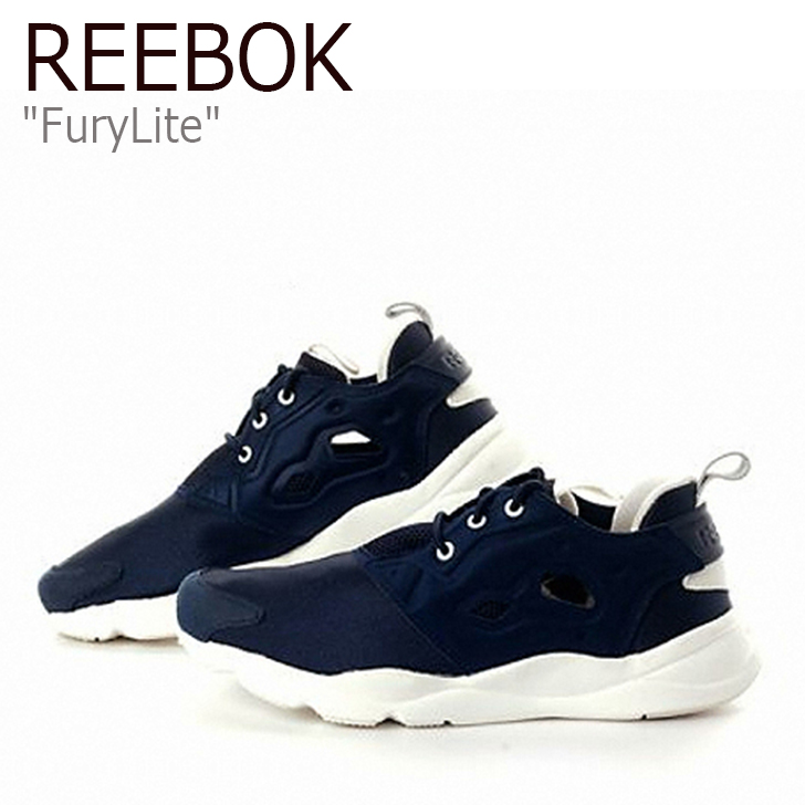 Reebok Fury Lite フューリーライト/NVY/WHT/CHA【リーボック】【フューリーライト】【AR0596】 シューズ