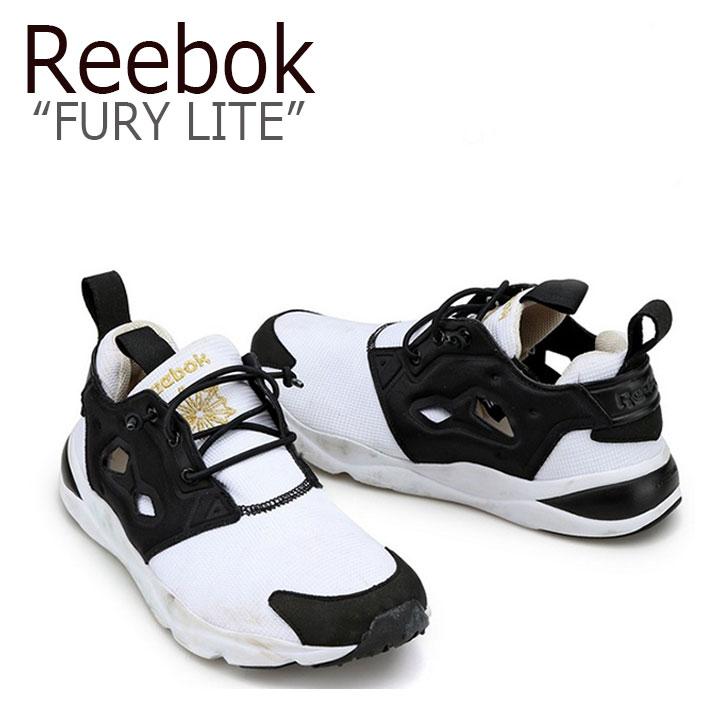 リーボック フューリーライト Reebok メンズ レディース Fury Lite フューリー ライト Black White ブラック ホワイト AQ9016 シューズ