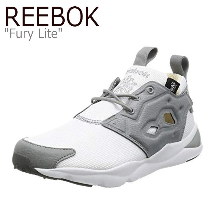 リーボック フューリーライト Reebok メンズ Fury Lite GRAY WHITEグレー ホワイト AQ9015 シューズ