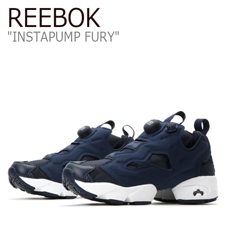 Reebok INSTAPUMP FURY ポンプフューリー / ネイビー【リーボック】【ポンプフューリー】【 V65752】 シューズ