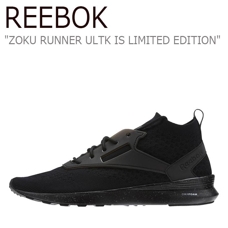 リーボック スニーカー Reebok メンズ レディース ZOKU RUNNER ULTK IS LIMITED EDITION ゾク ランナー ウルトラニット リミテッド エディション Black Flint Grey Whiteブラック BS6356 シューズ