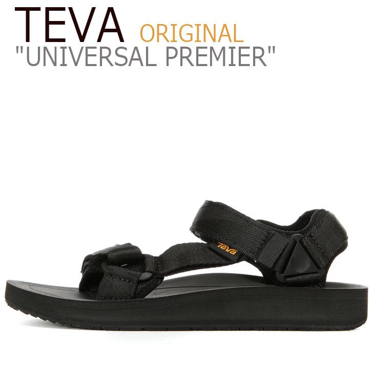 テバ ユニバーサル サンダル TEVA メンズ ORIGINAL UNIVERSAL PREMIER オリジナル ユニバーサル プレミア BLACK ブラック 1015192-BLK シューズ