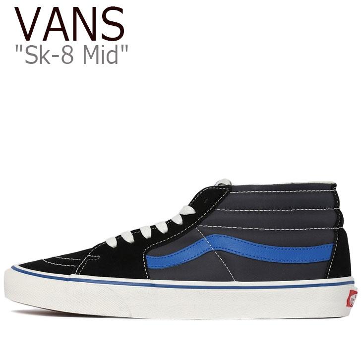 バンズ スニーカー VANS メンズ レディース SK8-MID スケートミッド BLACK ブラック NAVY ネイビー VN0A3WM3VP2 シューズ