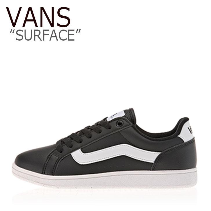 バンズ スニーカー VANS メンズ レディース SURFACE サーフィス BLACK WHITE ブラック ホワイト V2129 シューズ