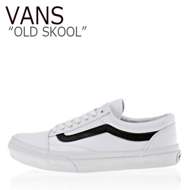バンズ オールドスクール スニーカー VANS メンズ レディース OLD SKOOL WHITE ホワイト V36CL-MDC シューズ