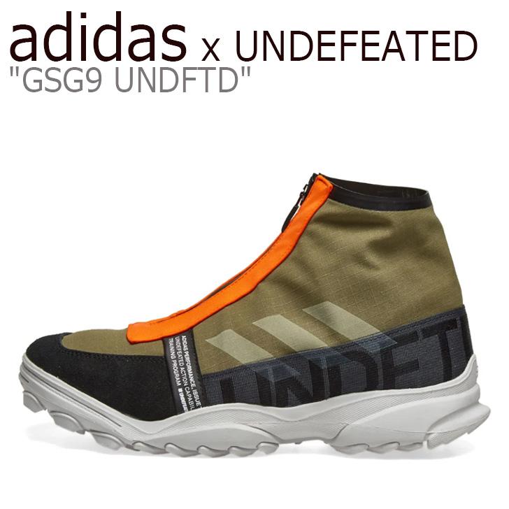 アディダス スニーカー adidas x UNDEFEATED メンズ GSG9 UNDFTD アンディフィーテッド Olive Cargo オリーブカーゴ G26650 シューズ 【中古】未使用品