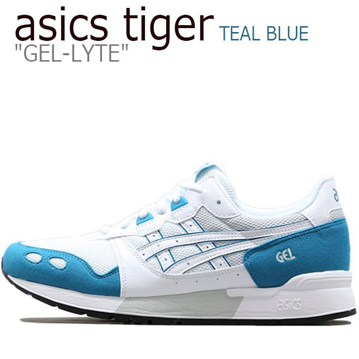 アシックスタイガー スニーカー asics tiger メンズ レディース GEL-LYTE ゲルライト WHITE ホワイト TEAL BLUE ティール ブルー 1191A092-102 シューズ